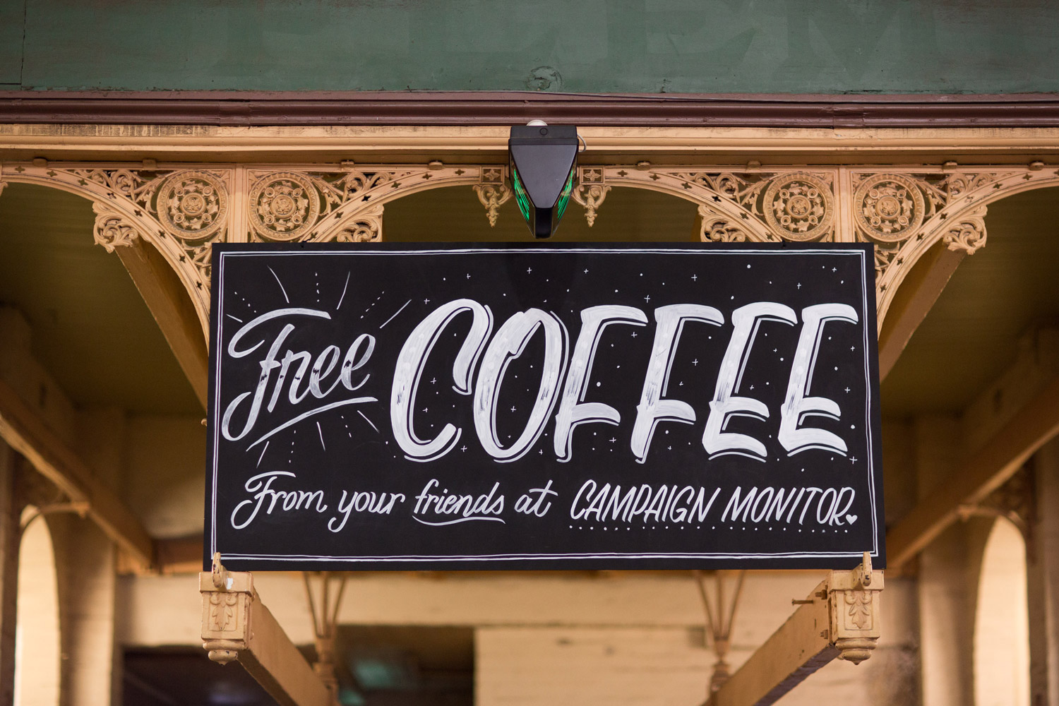 Free-Coffee-Sign
