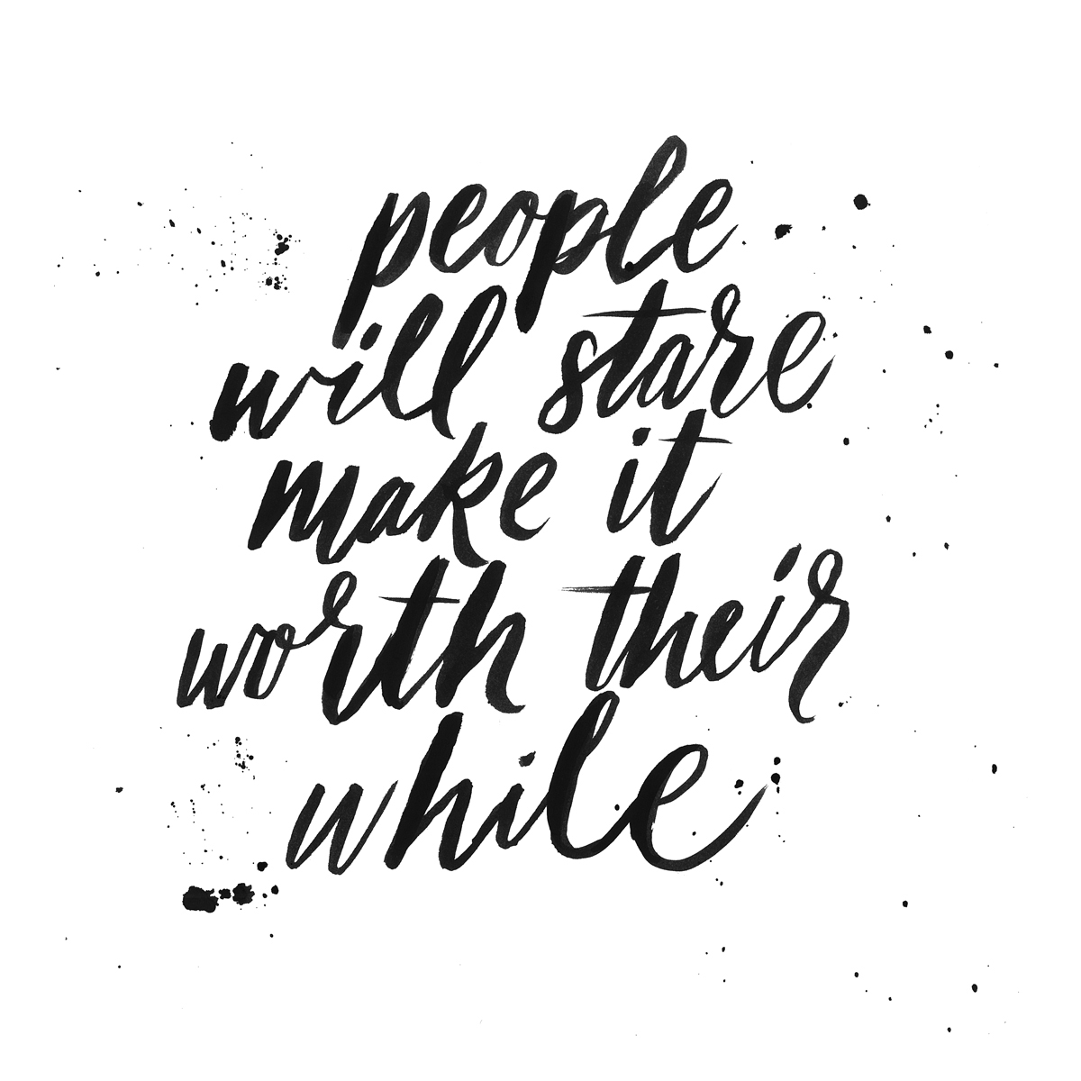 People-Stare
